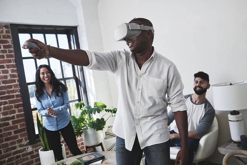 Oculus Go standalone VR med vänner