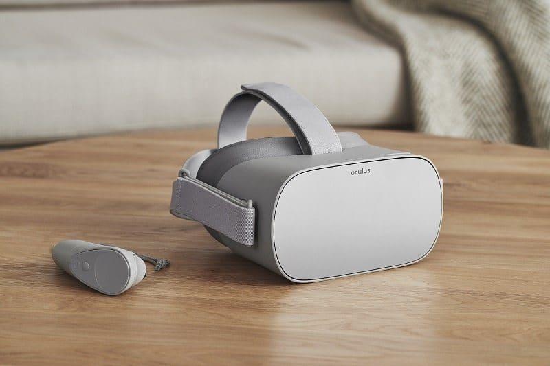Oculus Go standalone VR-glasögon