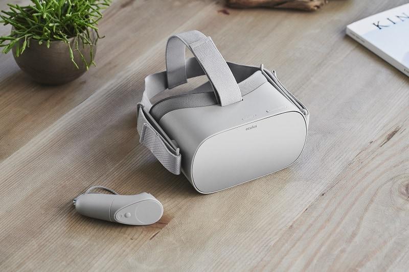 Oculus Go VR-glasögon och handkontroll