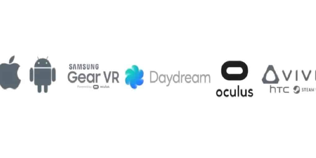 VR-plattformar steam oculus home daydream apple google