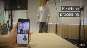 Jaunt 3d-avatarer för AR