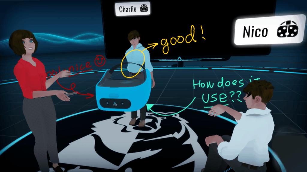 Vive Sync virtuella möten