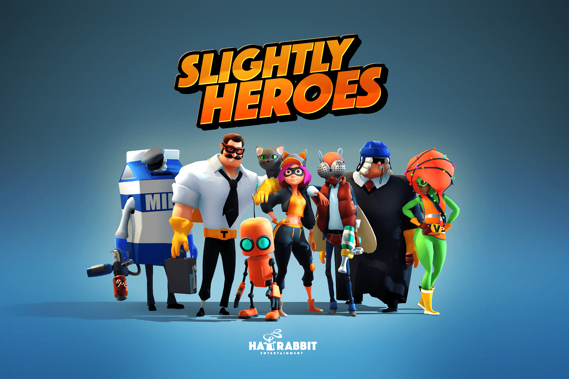 Släpp + GIVEAWAY för Slightly Heroes: Pixar-inspirerat multiplayer-FPS