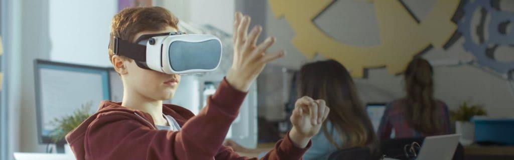 VR-appar för skolan VR-filmer för klassrummet