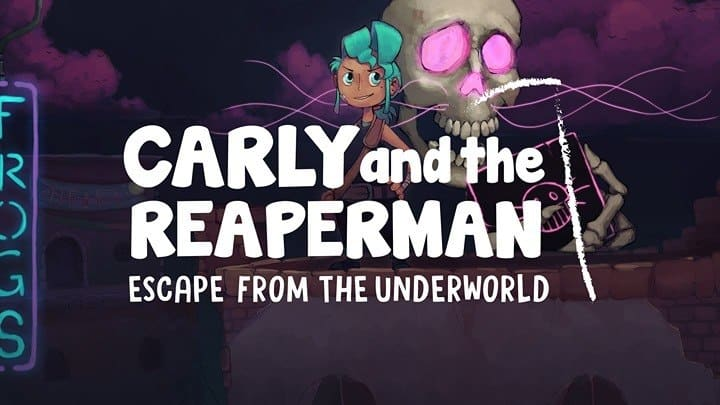 Speltest: svenskproducerade Carly and the Reaperman.