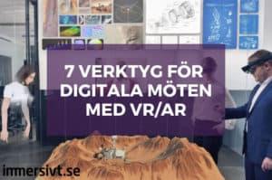 digitala möten i vr ar