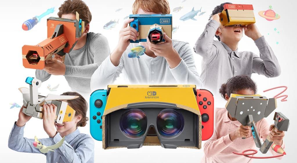 Nintendo Labo VR-glasögon