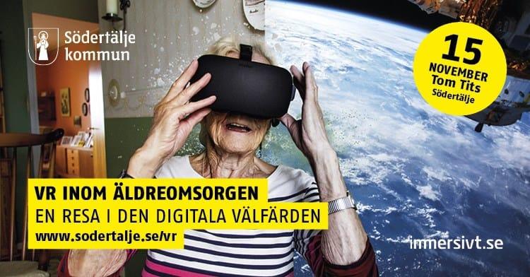 konferens VR i äldreomsorgen, del av VR Stockholm