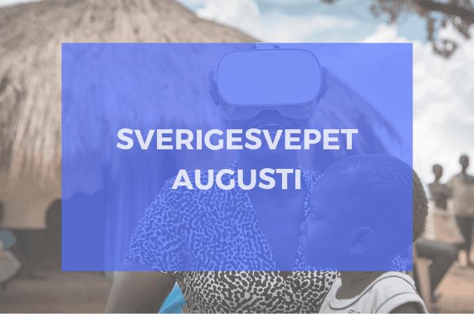 Sverigesvepet Augusti: VR för arbetssäkerhet och minskad aggression, framåt för Bublar och Antler Interactive + mer