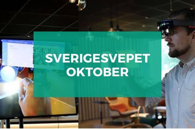 Sverigesvepet oktober