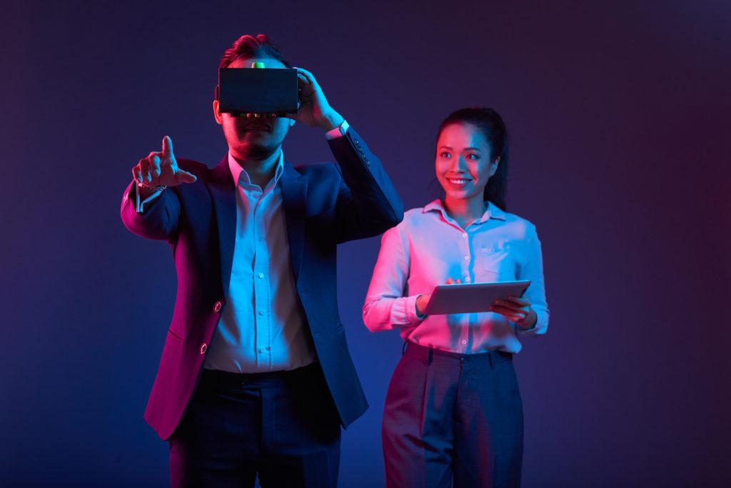 VR i praktiken