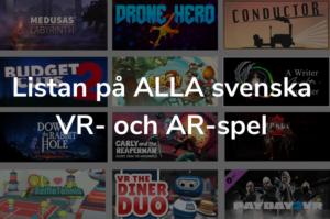 Lista på svenska VR-spel